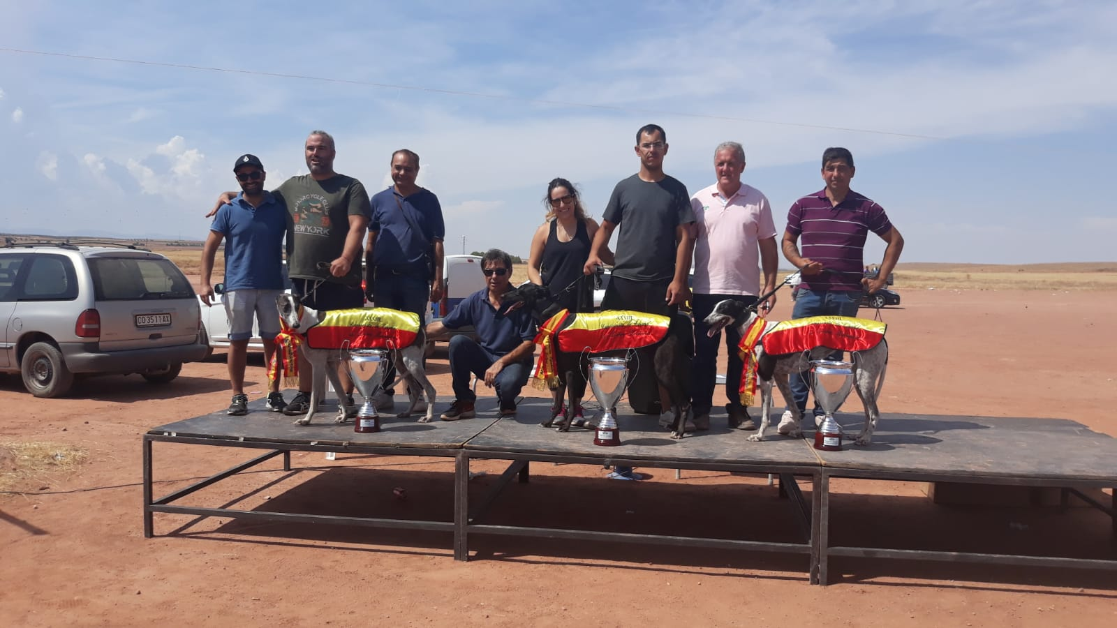 Palmarés del XXXIII Campeonato de España de Galgos en Campo con Liebre Mecánica
